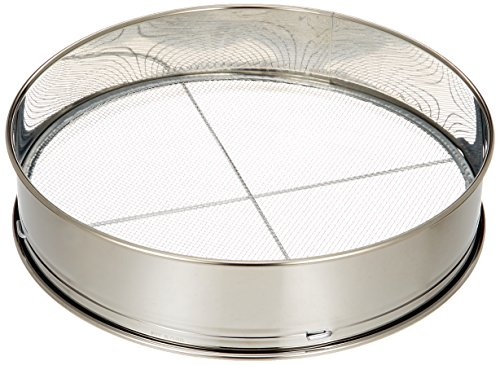 Safe-Deposit 3 stainless soil sieve 12inch for Bonsai japan import
