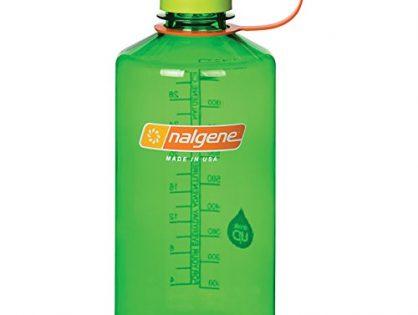 Nalgene Tritan 32 oz Narrow Mouth BPA-Free Water Bottle, Melon Ball