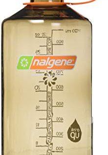 Nalgene Tritan 32 oz Narrow Mouth BPA-Free Water Bottle, Woodsman
