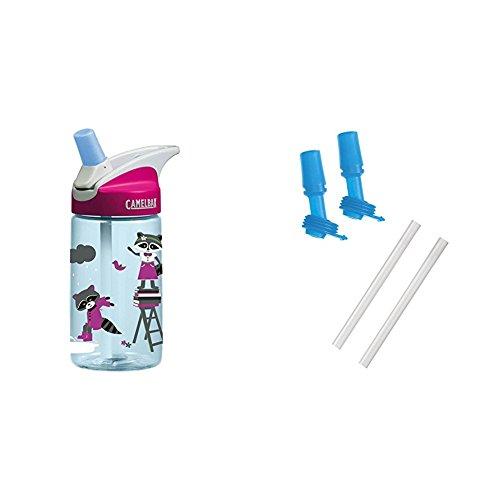 Easy to Use for Kids - BPA-Free Water Bottle - Water Bottle For Kids - CamelBak Eddy 0.4-Liter Kids Water Bottle - 12 Ounces - Spill Proof- Not For Children Under 3 Years - CamelBak Kids Big Bite Valve