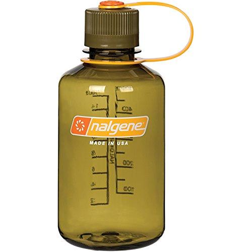 Nalgene NM 1 PtT Sports Water Bottle, Olive, 16 oz