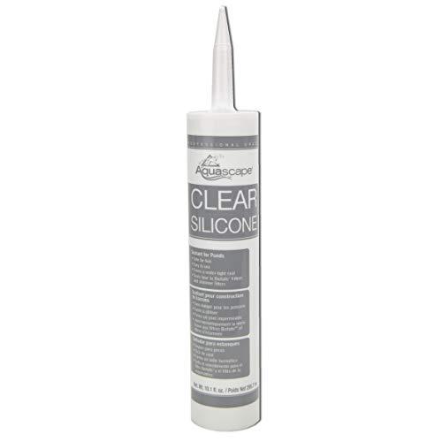 Aquascape 82000 Clear Silicone Sealant Safe for Fish and Plants, 10.1-Ounce Caulk Tube