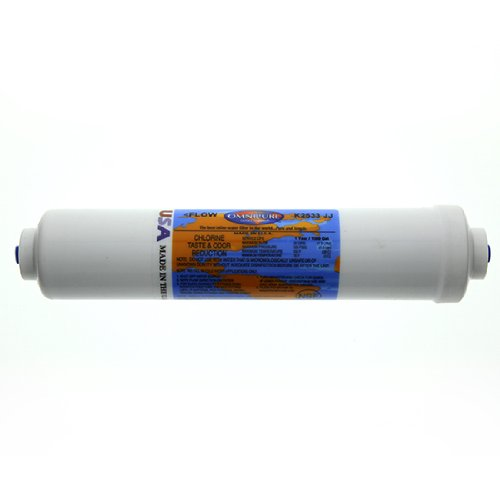 Omnipure K2533JJ Inline Water Filter with Quick-Connect