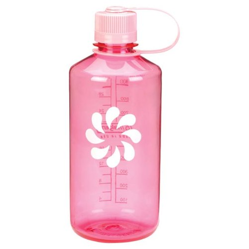 Nalgene Tritan 1-Quart Narrow Mouth BPA-Free Water Bottle, Pink