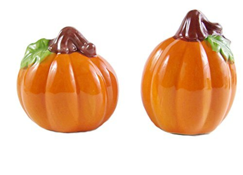 Fall Harvest Salt and Pepper Shaker Set Pumpkin by Home Collection