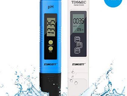PH Meter, Digital Water Quality Test TDS PH EC Temperature 4 in 1 Set for Water, Indoor, Pool and Aquarium