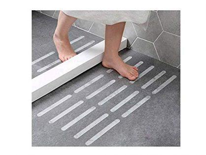 Bosiwee Nonslip Bathtub Tape, Anti-Slip Stickers Strips for Shower Floor for Adult