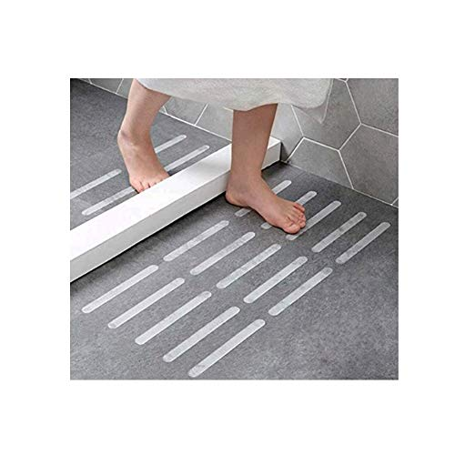 Bosiwee Nonslip Bathtub Tape, Anti-Slip Stickers Strips for Shower Floor for Adult