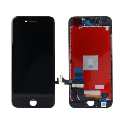 ZTR LCD Screen Replacement Fits iPhone 7 4.7 inch Display Full Complete digitizer Assembly Frame Set Front Glass Black