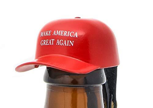MAGA Hat Bottle Opener Solid Steel