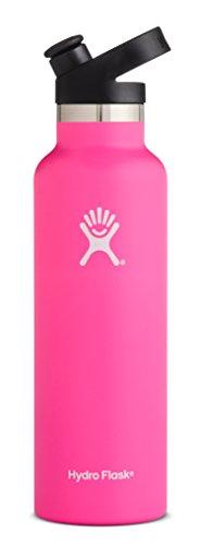 Flamingo - Hydro Flask 21 oz Water Bottle, Sport Cap