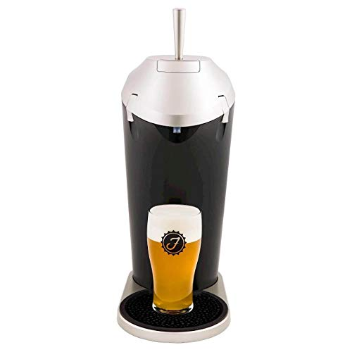 Fizzics Original. Portable Beer System with Fizzics Micro-foam Technology for a Bottle to Draft Experience for 64 oz. growlers, cans and bottles.