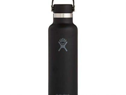 21 oz, Black - Hydro Flask Skyline Series Water Bottle, Flex Cap