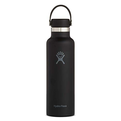 21 oz, Black - Hydro Flask Skyline Series Water Bottle, Flex Cap