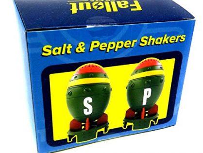 Fallout Mini Nuke Salt and Pepper Shakers Set