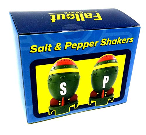 Fallout Mini Nuke Salt and Pepper Shakers Set