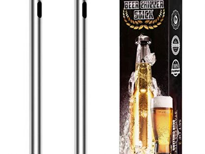 Fronnor Gifts for Men Beer Chiller Sticks for Bottles Cool Unique Gift for any Beer Lover Stainless Steel Beverage Cooler Cooling Christmas,Thanksgiving,Fathers' Day,Valentine's Day Gifts