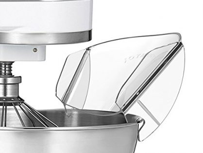 Pouring Shield, GUCHO Universal Pouring Chute for KitchenAid Bowl-Lift Stand Mixer Attachment/Accessories pouringA