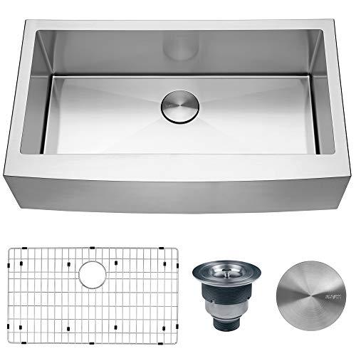 RVH9366 - Ruvati 36-inch Farmhouse Apron-Front Kitchen Sink Stainless Steel Single Bowl