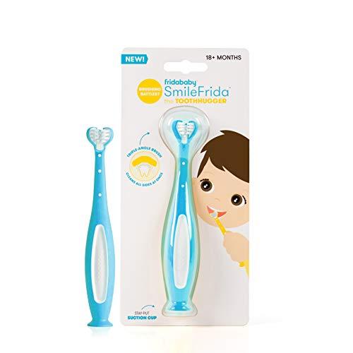 FridaBaby SmileFrida The ToothHugger Toothbrush, Blue