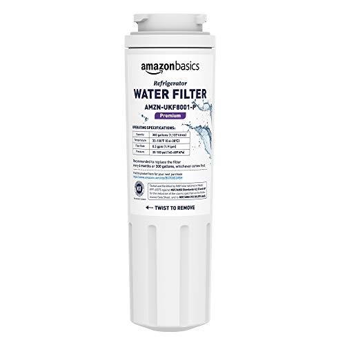 Premium Filtration - AmazonBasics Replacement Maytag UKF8001 Refrigerator Water Filter Cartridge