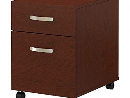 Bush Furniture Commerce 2 Drawer Mobile File Cabinet in Autumn Cherry