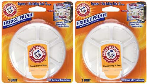 Arm & Hammer Fridge Fresh Refrigerator Air Filter - 2 pk