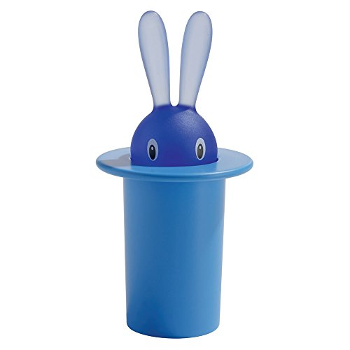 A di Alessi Magic Bunny Toothpick Holder, Blue