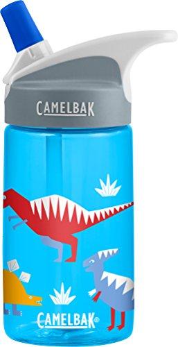 CamelBak Eddy Kids Water Bottle, Hip Dinos, .4 L