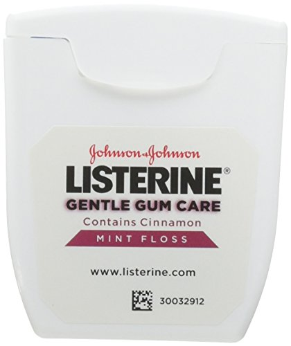 Listerine Gentle Gum Care Woven Floss, 50 Yards Pack of 6