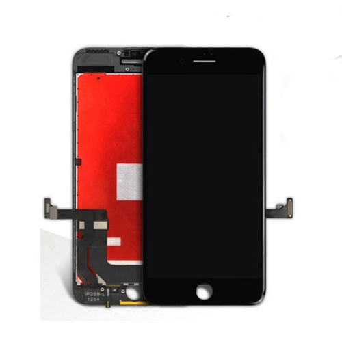 "passionTR Screen Replacement for iPhone 7 4.7"" Black LCD Screen Display digitizer Assembly Full Complete Frame Set Front Glass Touch Screen"