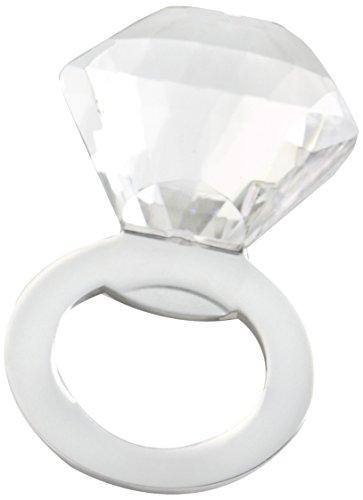 Kate Aspen Shine Sparkle & Pop! Diamond Bottle Opener, Silver