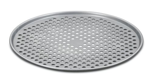 Cuisinart AMB-14PP Chef's Classic Nonstick Bakeware 14-Inch Pizza Pan, Silver