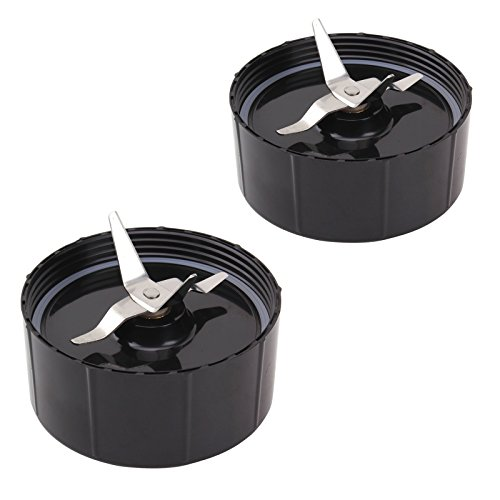 QT 2X Cross Blades for Magic Bullet 250W New With Gaskets Replacement Blender Part