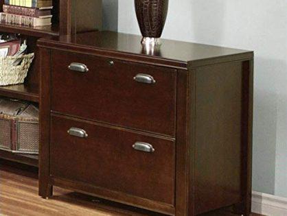 Martin Furniture Martin Furniture Tribeca Loft 2 Drawer Lateral File Cabinet, Fully Assembled, Cherry