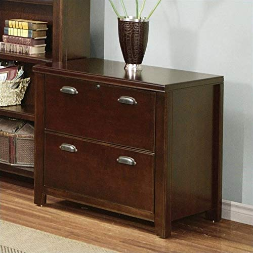 Martin Furniture Martin Furniture Tribeca Loft 2 Drawer Lateral File Cabinet, Fully Assembled, Cherry