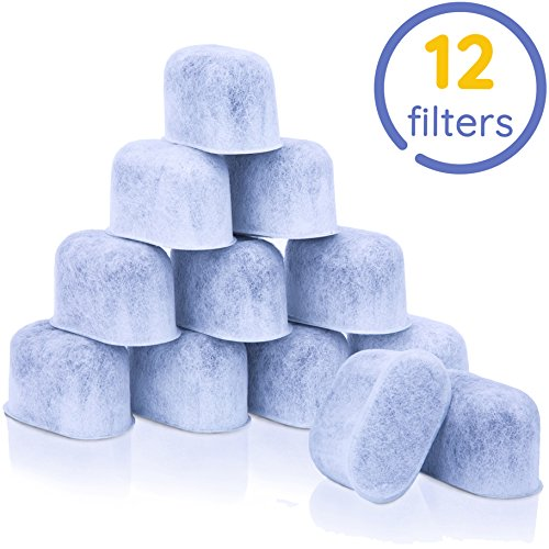 GoodCups 12 Water Filters for Keurig K-Duo, K-Classic, K-Elite, K-Select, K-Cafe, K-Compact, K-Mini - Replacement Water Filter for 1.0 and 2.0 Keurig Coffee Makers - Compatible with all Keurig Brewers