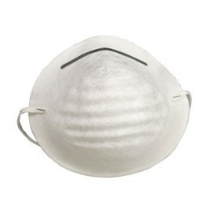 G & F 9118 Disposable Non-Toxic Dust and Filter Mask for cleaning, 50 Mask Value Pack
