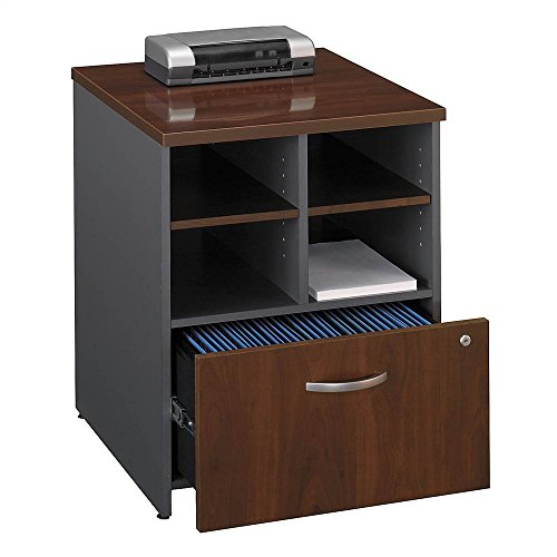 Bush Business Furniture Series C Collection 24W Piler Filer in Hansen Cherry