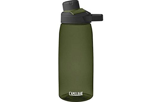 CamelBak Chute Mag BPA Free Water Bottle 32 oz, Olive