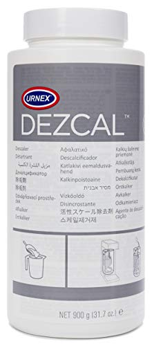 900g Bottle - Fast Effective Descaling Of Boilers and Heating Elements Faucets Spray Heads Milk Systems - Urnex Dezcal Coffee and Espresso Machine Descaler Activated Scale Remover