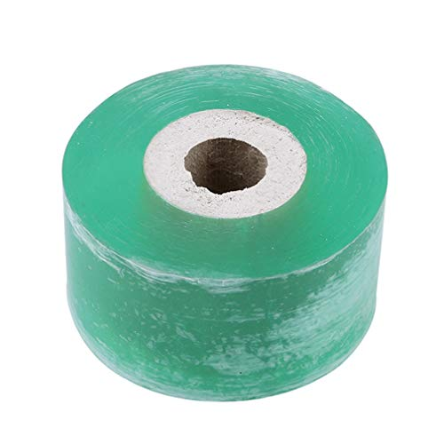LJSLYJ Manual Self-Adhesive Garden Fruit Tree Grafting Special Film Winding Tape Wrapping Film Grafting Tree Grafting Tape,Green 3cm
