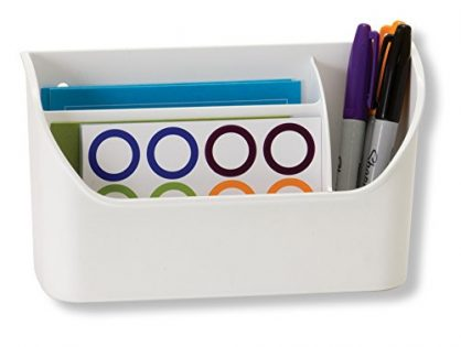 Officemate Magnet Plus Magnetic Organizer, White 92550