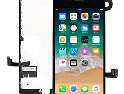 """for iPhone 7 Plus Screen Replacement Kit Black 5.5"""" LCD Display Nroech iPhone 7 Plus Replacement Touch Screen Digitizer Full Assembly with Front Camera+ Earpiece+ Repair Tools Kit+ Screen Protector"""