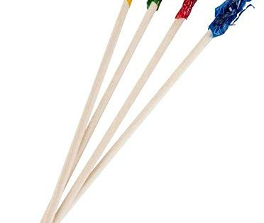 "Perfect Stix Sandwich Frill Picks, 4""Assorted, FP4-2000ct Pack of 2000"