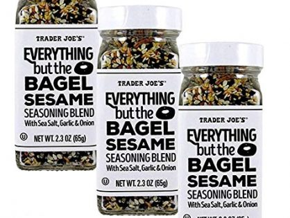 Trader Joe's Everything but The Bagel Sesame Seasoning Blend 2.3 oz, Pack of 3