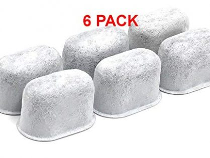 Premium Activated Charcoal Used in Filters 6 - 6Pack KEURIG Compatible Water Filter Cartridges For Keurig by Delibru