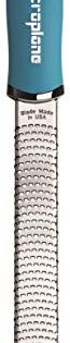 Microplane 46220 Premium Classic Series Zester Grater, 18/8, Turquoise
