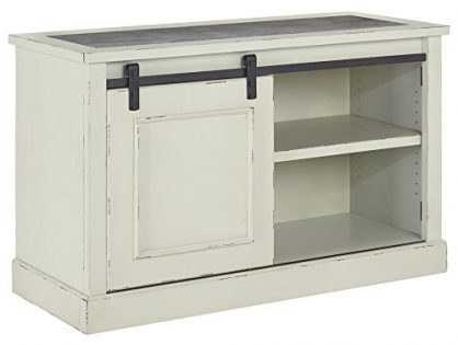 Signature Design by Ashley Jonileene Home Office Cabinet White/Gray