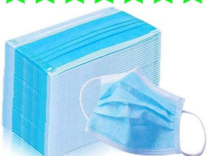 Kennedy Disposable Earloop Face Masks,Great for Virus Protection and Personal Health 50